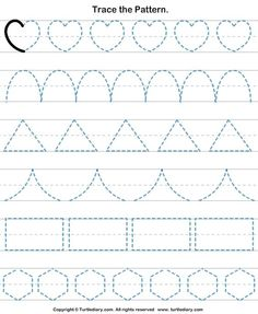 Check out Turtle Diary's large collection of Shapes worksheets for preschool. Make learning fun and easy with these great learning tools. Shape Worksheets For Preschool, Shape Tracing Worksheets, Nursery Worksheets, Preschool Writing, Numbers Preschool, Kids Learning Activities, Kindergarten Worksheets, Teaching Cursive Writing, Learning Tools