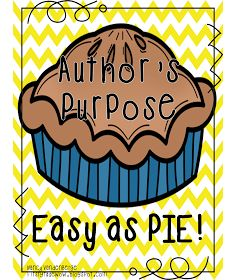 First Grade Wow: Author's Purpose