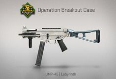 Counter-Strike Global Offensive: Operation Breakout Case: UMP-45 Labyrinth