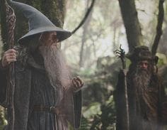 The Hobbit: An Unexpected Journey movie and book by J.R.R. Tolkien.
