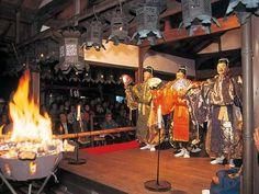 奈良 豆比古神社 翁舞 - 奈良市