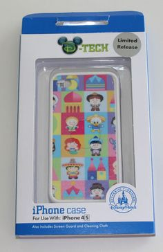 Super cute Its a Small World Disney iPhone Cover!