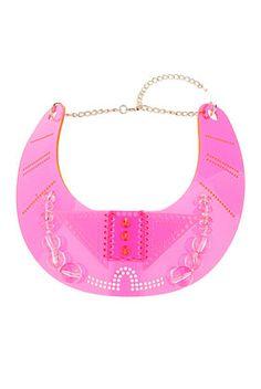 Mega Rave Plastic Necklace