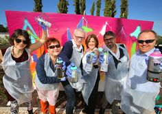 Check out some of our delegates enjoying a true #grafitti experience @connectionsl #travelweekly #ConradAlgarve #Portugal