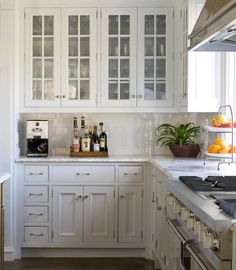 Weekly Q with Phoebe: Marble Counter Tops    Question: I am building a house, and when the topic came up over counter top selection for the kitchen, my builder was adamant that I should use granite for the counter tops. I notice that you use a lot of white marble counters in your projects. Our builder is insisting we sign a release if we install white marble counter tops. He says they don't hold up, and will be stained, and just high maintenance. What is your opinion?