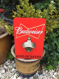 Wall Mounted Bottle Opener, Beer Bottle Opener, Gifts For Father, Gifts For Him, Great Gifts, Vintage Style, Vintage Fashion, Solid Wood, Brass