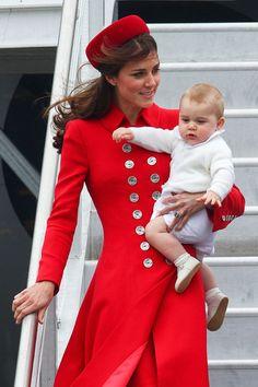 Kate Middleton - The Duke And Duchess Of Cambridge Tour Australia And New Zealand