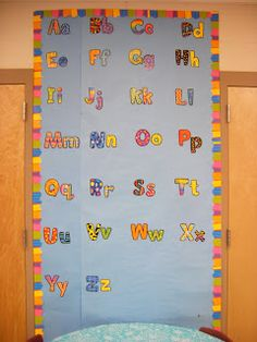 Poppin' Patterns letters and borders!