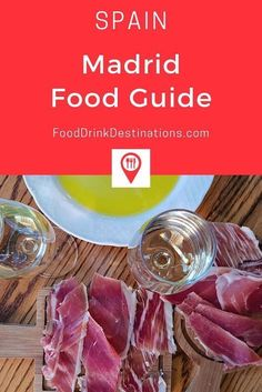Madrid Food Guide - What To Eat In Madrid Spain - Food Blog | #Madrid #MadridSpain #Spain #SpainTravel #SpanishFood #Tapas Spanish Dishes, Spanish Cuisine, Spanish Tapas, Spanish Recipes, Madrid Tapas, Madrid Food, Tapas Menu, Best Tapas, Afternoon Snacks