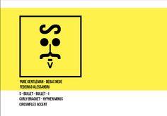 typo faces - signals | Federico Alessandri ©2013