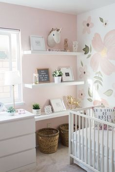 baby girl nursery room ideas 182677328623004896 - Whimsical Nursery Source by Baby Bedroom, Baby Room Decor, Nursery Room, Blush Nursery, Ikea Nursery, Wall Decor For Nursery, White Dresser Nursery, Wallpaper For Nursery, Girl Wall Decor