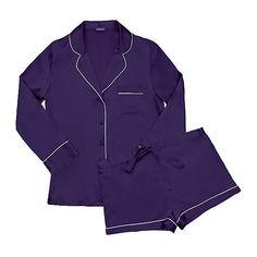 Journelle Kelly PJ Set ($158) ❤ liked on Polyvore featuring intimates, sleepwear, pajamas, lingerie sleepwear and lingerie pajamas