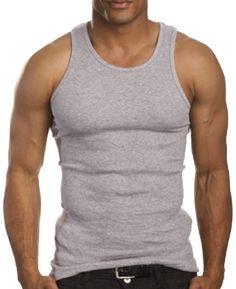 Homme 100/% Coton Running Gym Athletics Tank Top gilet A-shirt côtelé S-2XL