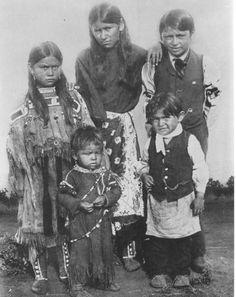 some of the children of Quanah Parker, Comanche chief
