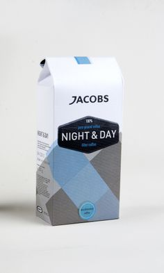 JACOBS / day and night coffee by goze ekim, via Behance PD