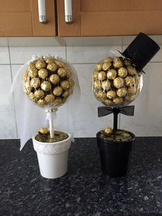 Wedding Bride And Groom Ferrero Rocher Chocolate Sweet