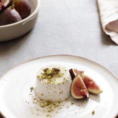 I Quit Sugar - Vanilla Pannacotta with Fig & Pistachio