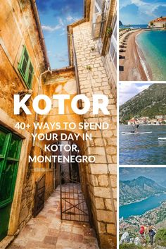 Discover 40+ of the best ways to spend your time in Kotor - as voted by locals.