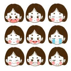 . 정가르마소녀(˃̶᷄‧̫ ˂̶᷅๑ ) . Kawaii Drawings, Cartoon Drawings, Cartoon Art, Cute Cartoon, Cute Drawings, Drawing Sketches, Cute Illustration, Character Illustration, Chibi
