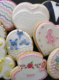 Royal iced biscuits by Tessa Whitehouse