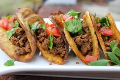These wonderful taco shells are made from plantains! Paleo Taco Shells- yes, grain free & vegan taco shells
