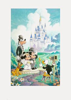 disney postcards | My Favorite Disney Postcards