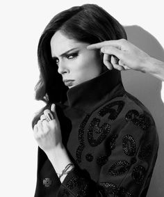 Coco Rocha in Louis Vuitton for DuJour, photograph by Nigel Barker