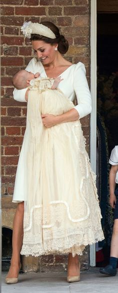 Duchess of Cambridge and little Prince Louie