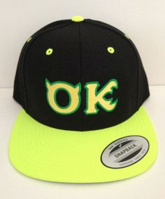 MONSTER UNIVERSITY OK Hat Cap Disney by winteriscoming2012, $20.00