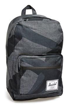 6f6ac01fdb6 Herschel Supply Co.  Pop Quiz - Black Portal  Backpack available at   Nordstrom