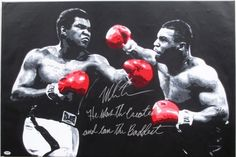 Sports Integrity - Mike Tyson Signed INSC