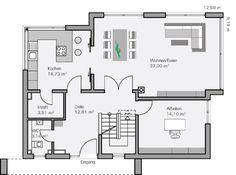 BAUMEISTER-HAUS - Haus Vettel - Grundriss Erdgeschoss