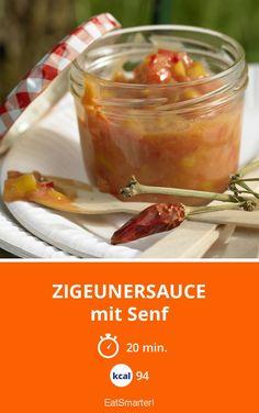 Zigeunersauce - mit Senf - smarter - Kalorien: 94 Kcal - Zeit: 20 Min. | eatsmarter.de