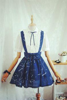 Talika .L Tailor house AP Constellation sailor straps (removable) SK strap skirt - Taobao