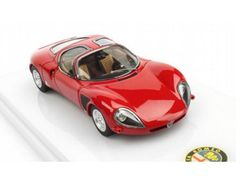 The TrueScale Minitatures 1/43 Alfa Romeo 33 Stradale 1968 Late Version is part of the TrueScale Miniatures 1/43 scale diecast model car range and displays some fantastic and intricate details.