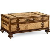 isn't this fun -- Thomasville's trunk coffee table!