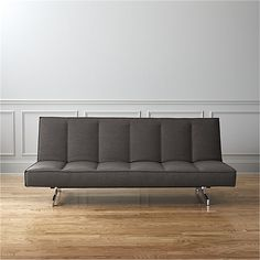 flex gravel sleeper sofa - Gravel | CB2
