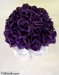 what a beautiful shade of purple-imagine it with jewels in it! though i don't like the satin ruffley thing underneath.