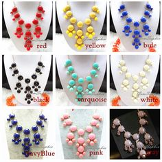 Hot Sale Mini Style Bubble Necklace Bubble Bib by GemSophia, $6.90 ETSY
