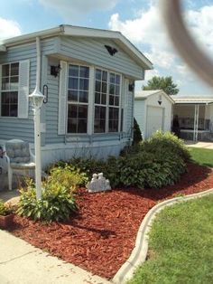 1000 images about double wide decor on pinterest mobile homes single wide mobile homes and Landscape design ideas mobile home