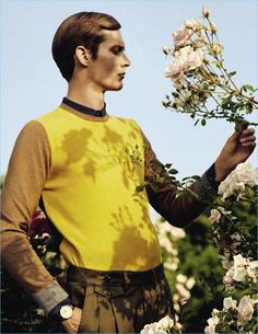 Il Giardino Segreto: Felix Gesnouin Stars in Magical Vanity Fair Italia Story