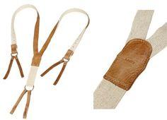 For Men Suspender Vintage Wedding | Levi's Japan Vintage Elk Leather Suspenders | Por Homme - Men's ...