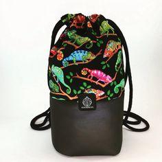 Kama Bag - 2016  eco-leather and fabric, handmade 26cm*36,5cm