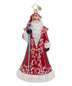 Another great find on #zulily! Ruby Red Robes Ornament #zulilyfinds