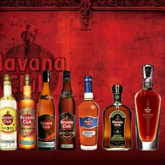 Havana Club - the finest rum in the world. Wine And Liquor, Liquor Bottles, Wine Drinks, Cocktail Drinks, Cuba Rum, Havana Nights Party Theme, Havana Club Rum, Matanzas Cuba, Cuba People
