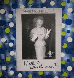 1982年 マレーネ・ディートリッヒ/Marlene Dietrich 写真作品集_画像1