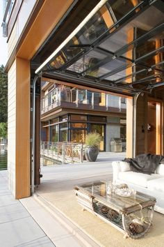 Open Living Space Cedar Rain Screen 183 Galvalume Metal