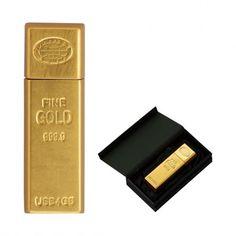 ゴールドインゴット USBメモリー  Gold Ingot USB memory
