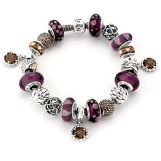 Pandora Autumn Leaves Bracelet