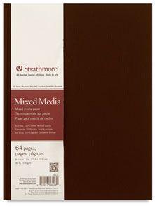 Strathmore Hardbound 500 Series Mixed Media Art Journal